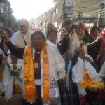 Parade in Nepal for Grandmothers